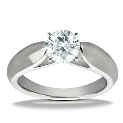classic solitaire - Design Your Own Wedding Ring